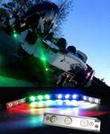 Sublight undervattensljus RGB- Ställbar färg