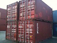 Begagnade 20 & 40ft sjöcontainers Eskilstuna
