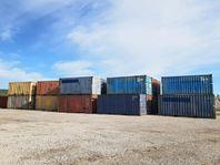Begagnade containrar från 10 000 kr/st