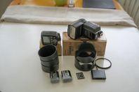 Olika tillbehör till Nikon Z6,Z7,Z6II Z7II spegellös Kameror