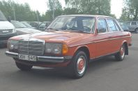 Mercedes-Benz 220 D 123 Automat 58Hk Dragkrok