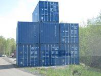 Nya Isolerade 20´ft sjöcontainers