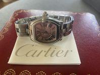Cartier roadster stål 33mm