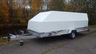 3s Alutrailers P500 bromsad aluminiumsläpvagn