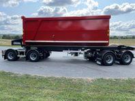 ROADEX - 38 ton lastväxlarvagn med tipp och skjutbar boggie