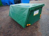 BM gödsel containers TÄT med Presenning