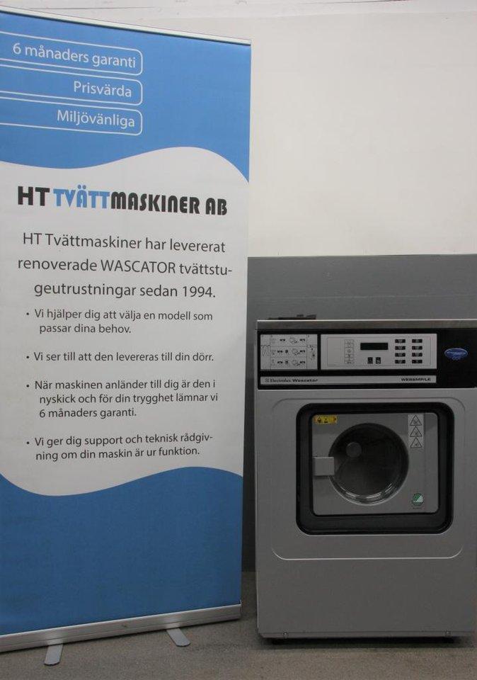 Wascator tvätt för Hyreshus ,...