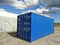 Container, nya och beg. Kiruna kombiterm