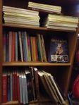 Böcker & noter för många instrument &artister