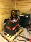 Truckbatteri rekond. renovering