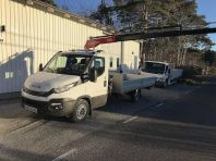 Iveco Daily 35S16 Kranbil Fassi M25 Radiostyr