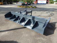 Planering/Avjämningsbalk 3m Grävfäste S70