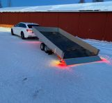 Biltransport/biltrailer uthyres