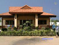 Strandnära hus Blue Mango i Mae Phim Thailand