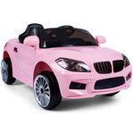 Rosa elbil för barn 12V - Fri frakt - REA