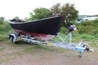 Båttrailer 1350 - 3500 kg, för SNIPA UTHYRES