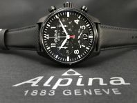 Alpina Startimer Pilot Chronograph 44mm Black
