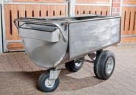 Rostfri fodervagn