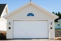 Bredare garageport. KROKOM40