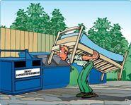 Bortforsling av grovt avfall dödsbo billigt