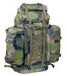 M90 militär ryggsäck 80 liter - försvarets kamouflage