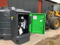 Ny stationär dieseltank 3500 liter lagervara