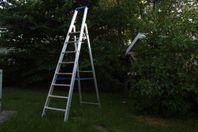 UTHYRES - Hög trappstege 1,9m med 8 steg