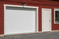 Bredare garageport räddar bilens backspeglar