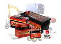Kvalitetsbatterier från testvinnaren Banner