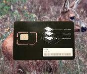 SIM-kort till Åtelkamera