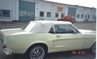 Sufflett cab till Ford Mustang 69-70
