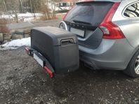 UTHYRES - Dragkroksbox transportlåda extra ba