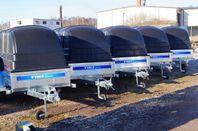 Deal Tiki trailer C-265 ink Kåpa FINANS