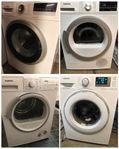Nya model Tvättmaskin och Torktumlare
