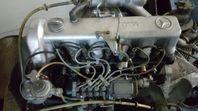 Ny mercedes utbytes motor 240d 3.0