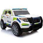 Elbil för barn - Svensk polisbil - REA