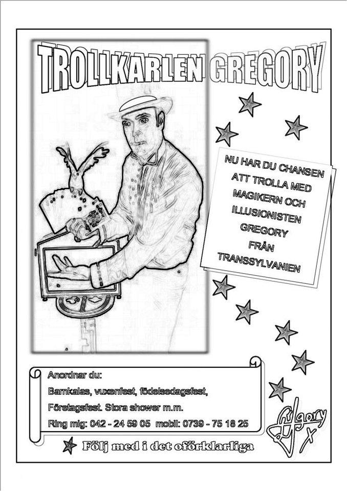 Boka Trolkarl Gregory Trolleri