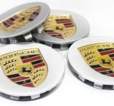 Porsche emblem centrumkåpor och styling billigt