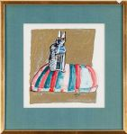 UTHYRES - Madeleine Pyk - Akvarell