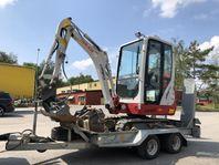 Take-Job Minigrävare 1,5 ton Uthyres