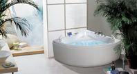 Maxutrustat bubbelbad 140x140cm PM-hem