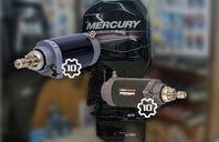 10-kuggars startmotor Mercury utombordare