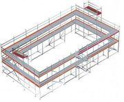 Ny byggställning modul 354 kvm LAGERVARA
