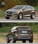 Volvo avtagbar dragkrok, osynlig XC60,S80,V70