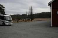 Uppställningsplats säsong husbil husvagn