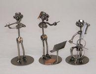 Musiker och dirigent i metall