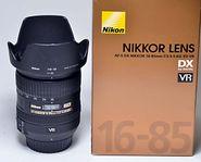 Nikon AF-S DX 16-85/3,5-5,6 G ED VR