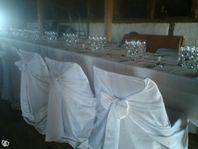 Vackra och eleganta stolsöverdrag till festen