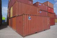 Begagnade 20ft & 40ft-container i bra skick