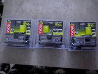 Ryobi Mutterknackare & Batterier